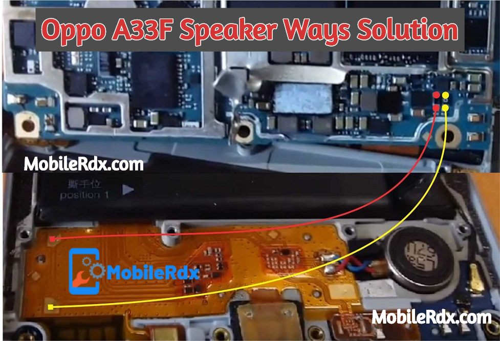 Oppo A33F Speaker Ways Solution Oppo A33F Ringer Jumper