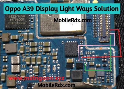 Oppo A39 Display Light Solution LCD Light Ways
