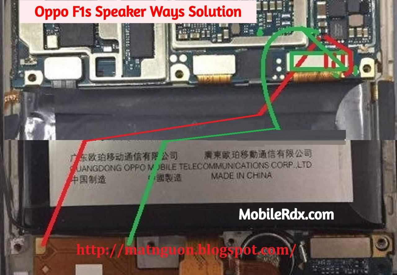 Oppo F1s Speaker Ways Ringer Problem Jumper Solution