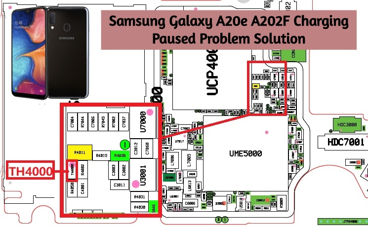 Samsung Galaxy A20e A202F Charging Paused Problem Solution