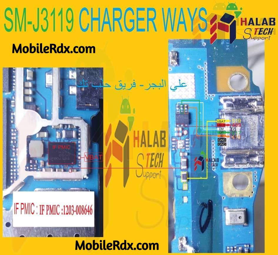 Samsung Galaxy J3 Pro J3119 Charging Ways Solution Usb Jumper