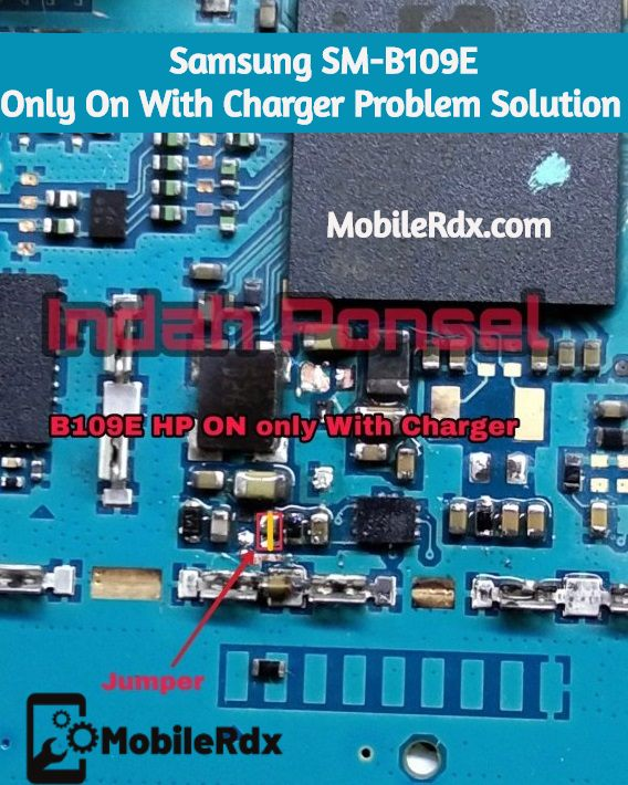 Samsung SM B109E Only On With Charger Problem Repair Solution