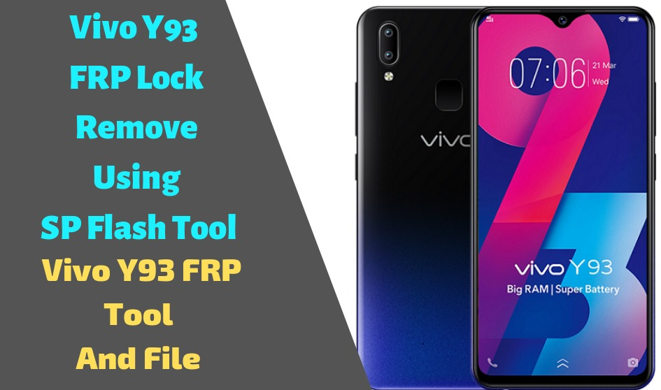 Vivo Y93 FRP Lock Remove