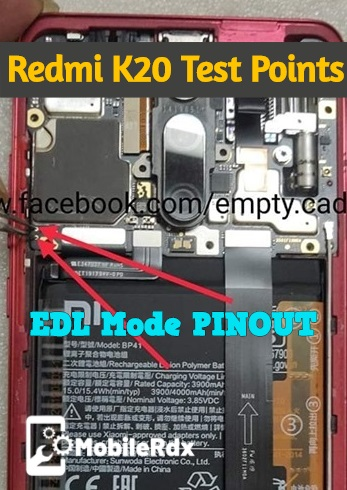 Xiaomi Redmi K20 EDL Mode PINOUT Redmi K20 Test Points