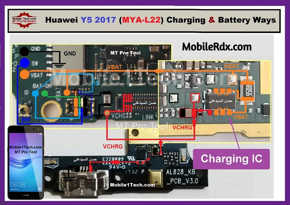 Huawei Y5 2017 Charging Problem Solution Charging Ways