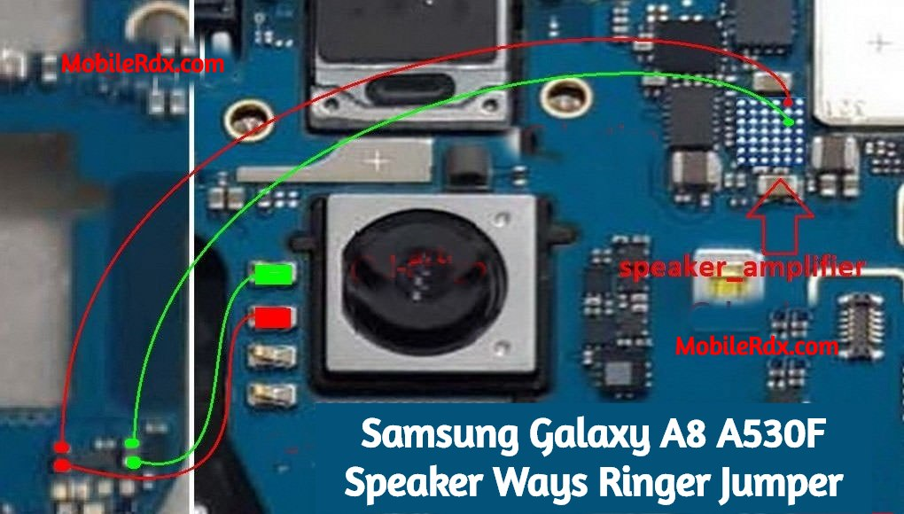 Samsung Galaxy A8 A530F Speaker Ways Ringer Problem Jumper