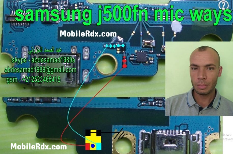 Samsung Galaxy J5 J500F Mic Ways Mic Problem Jumper Solution