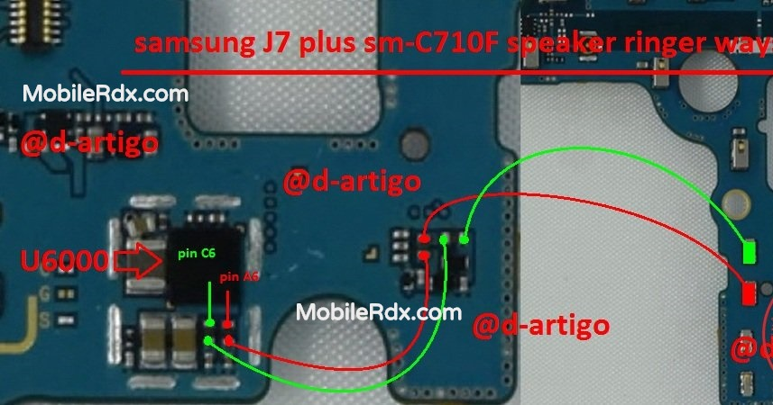 Samsung Galaxy J7 Plus C710F Speaker Problem Solution Ringer Ways