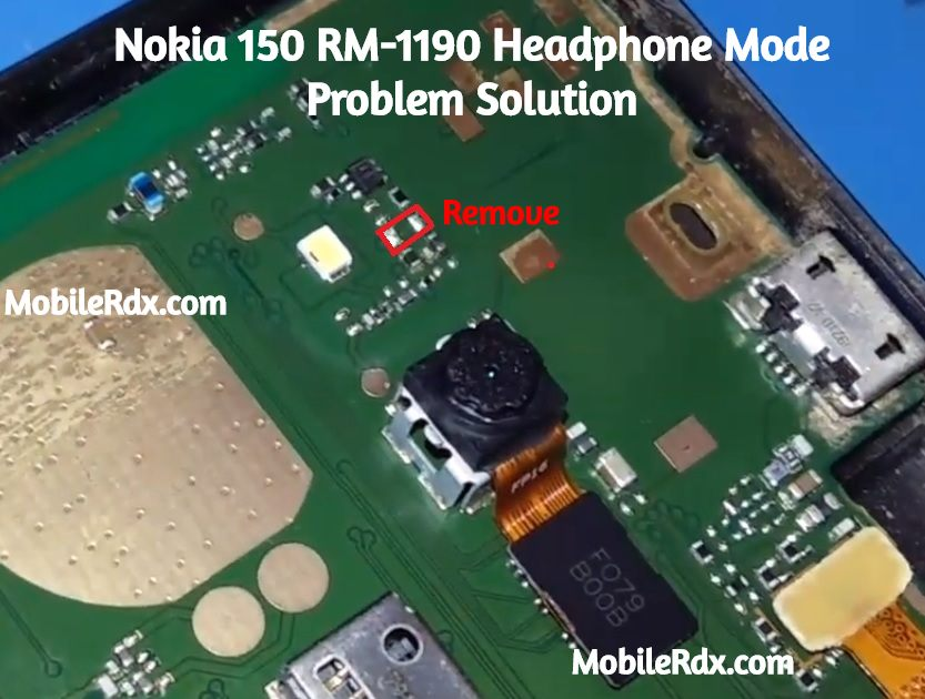 Nokia 150 RM 1190 Headphone Mode Problem Handfree Icon Solution
