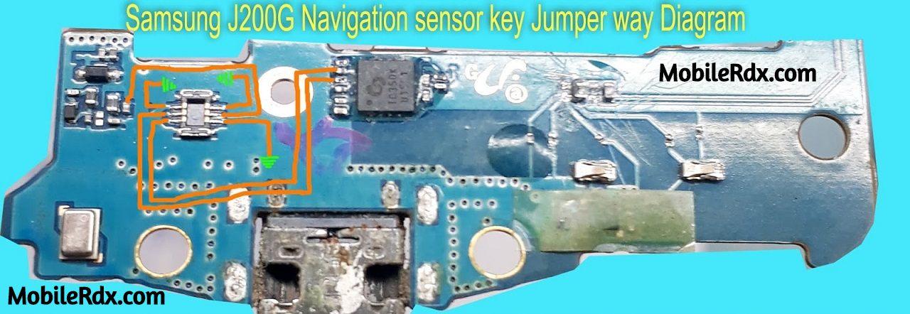 Samsung Galaxy J2 J200G Home And Back Key Ways