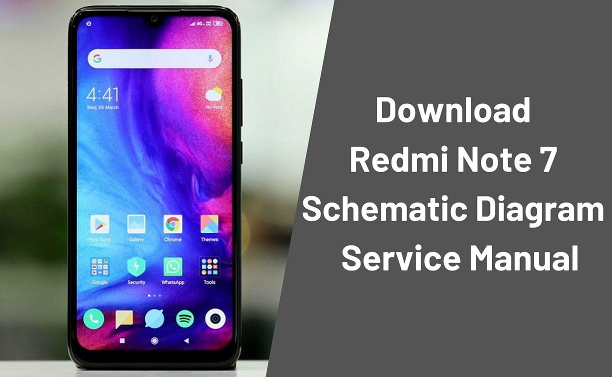 Download Redmi Note 7 Schematic Diagram Service Manual