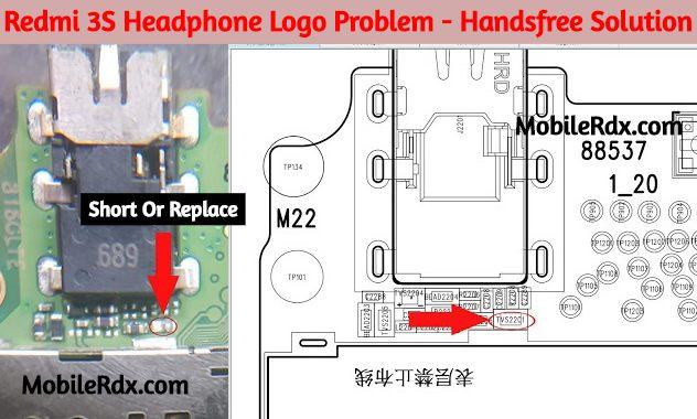 Redmi 3S Headphone Logo Problem Handsfree Headset Mode Solution