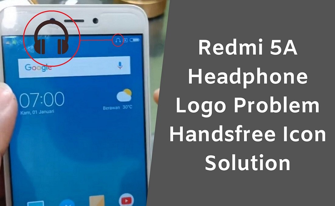Redmi 5A Headphone Logo Activated