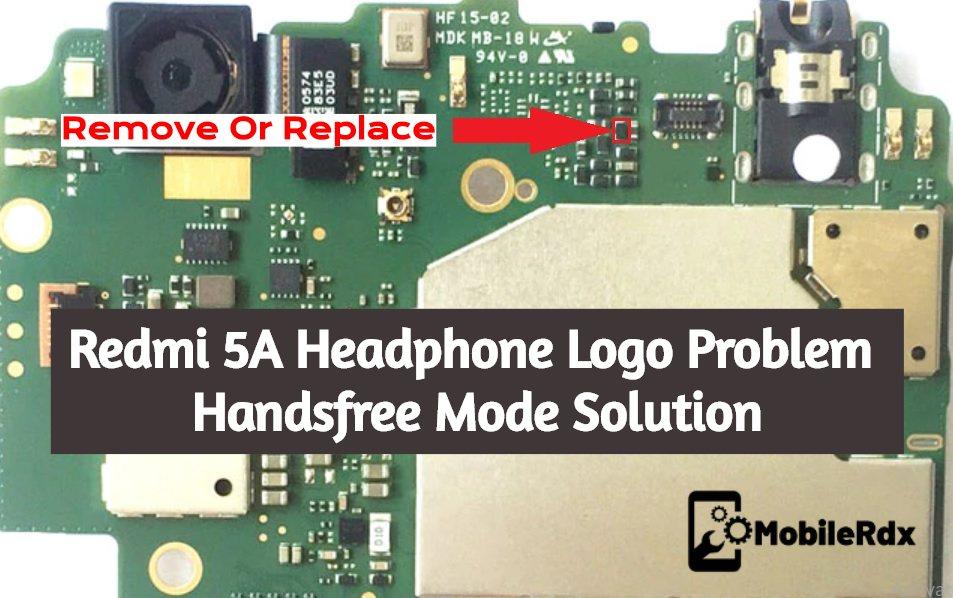 Redmi 5A Headphone Logo Problem Handsfree Mode Solution