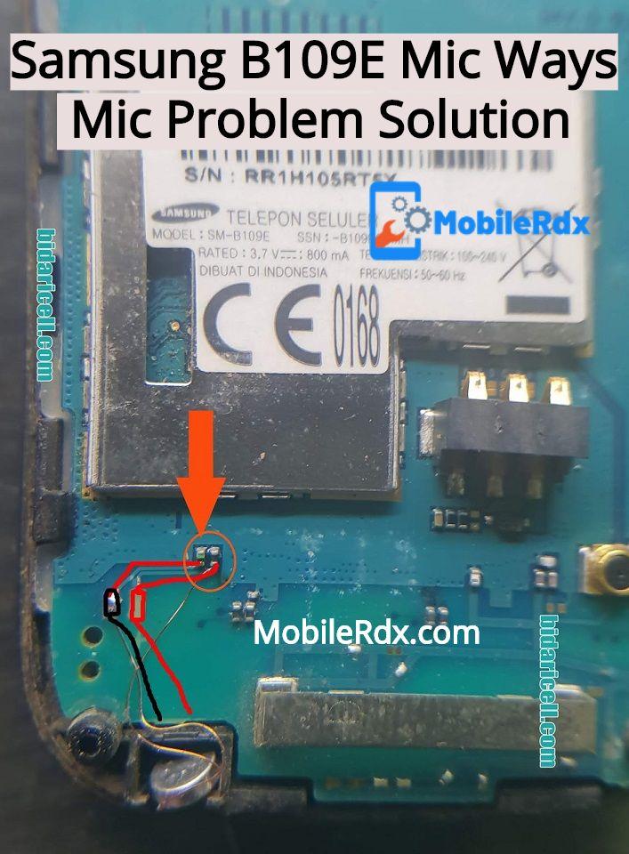 Samsung B109E Mic Ways Mic Problem Jumper Solution
