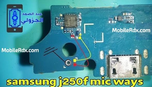 Samsung Galaxy J2 Pro J250F Mic Ways Solution Mic Problem Repair