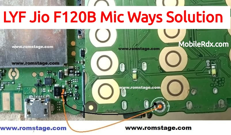 LYF Jio F120B Mic Ways Solution