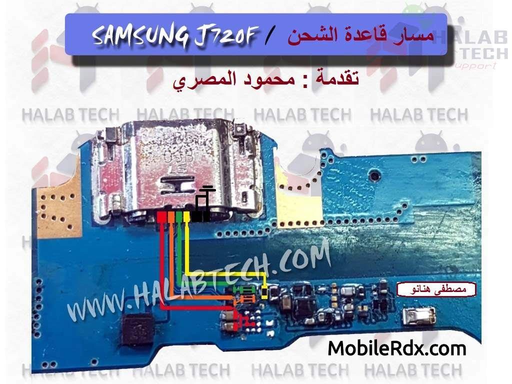 Samsung J720F Charging Problem Ways Solution USB Jumper