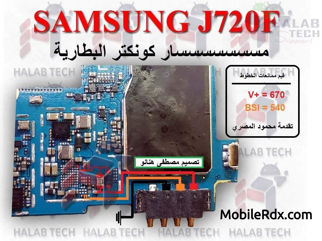 Samsung SM J720F Battery Connector Problem Ways Solution