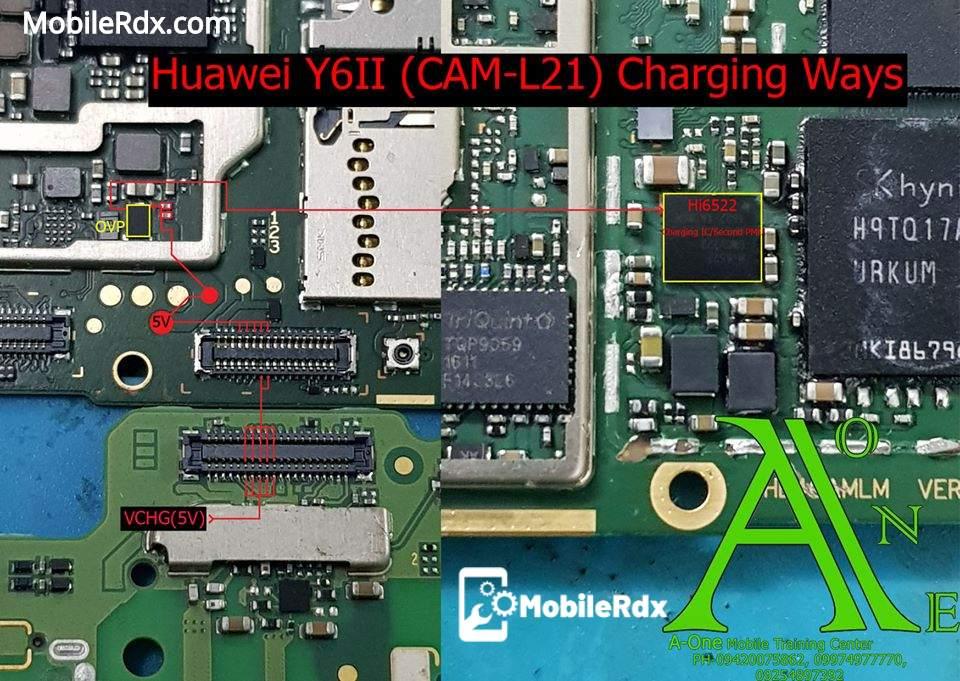 Huawei Y6II Charging Ways Solution