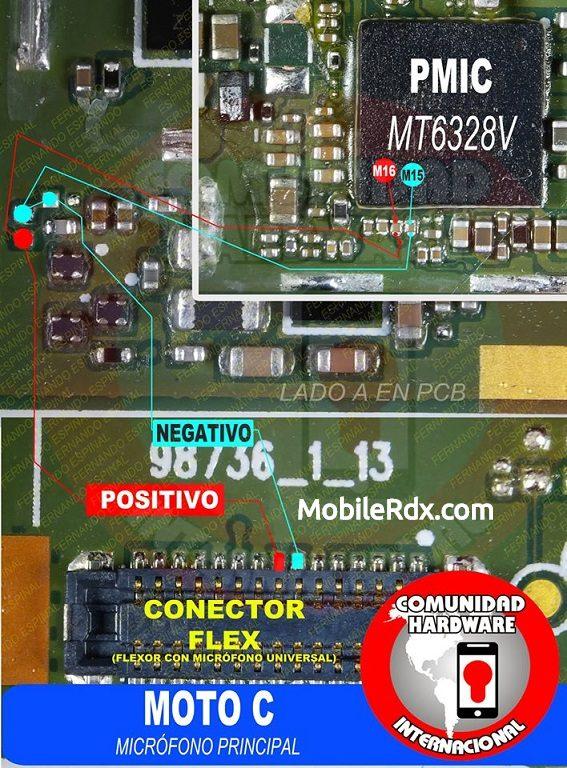 Motorola Moto C Mic Problem Ways Solution Mic Jumper
