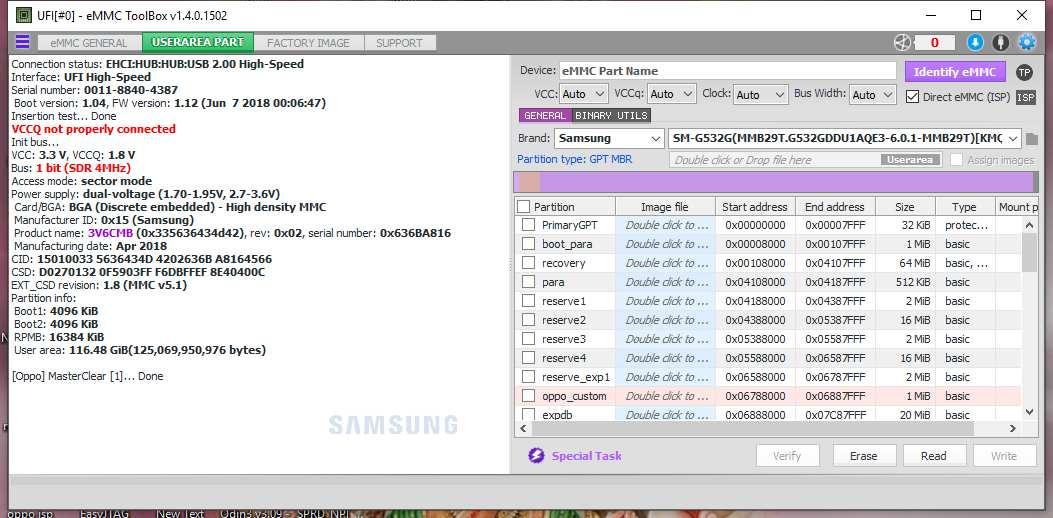 Realme 1 User Lock Remove Using UFI Box