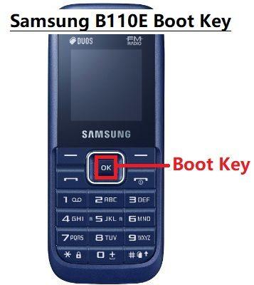 Samsung B110E Boot Key For Flashing