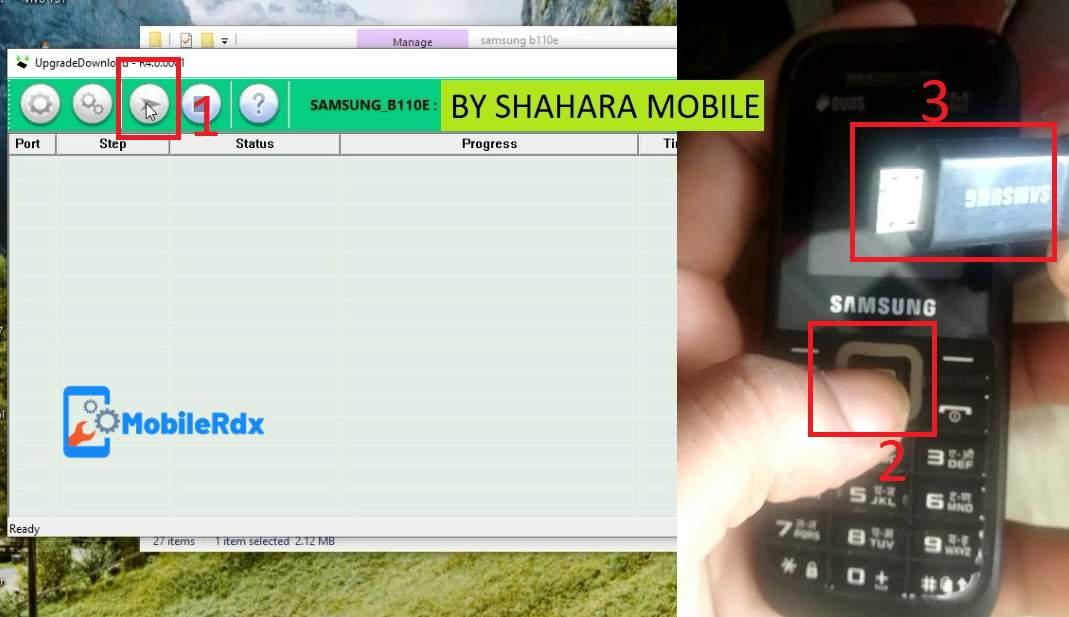 Samsung B110E Phone Lock Boot Key