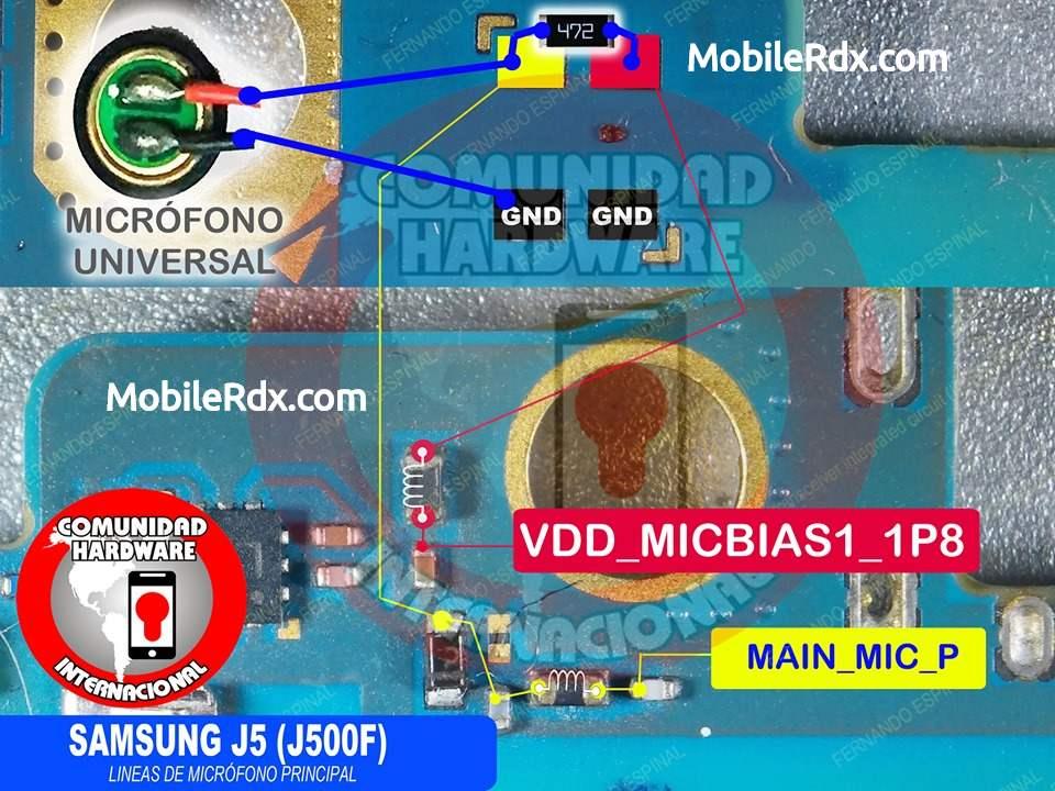 Samsung Galaxy J5 J500F Mic Problem Solution Mic Ways