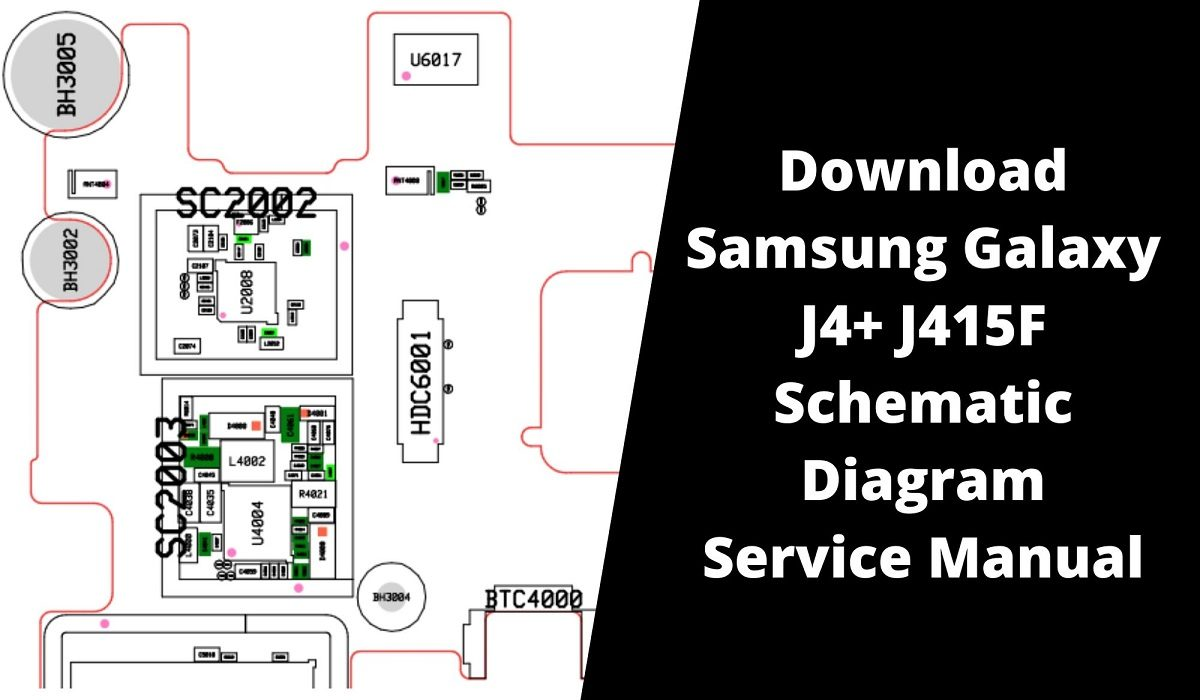 Download Samsung Galaxy J4 J415FN Schematic Diagram Service Manual