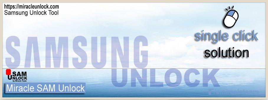 Miracle Samsung Unlock Tool
