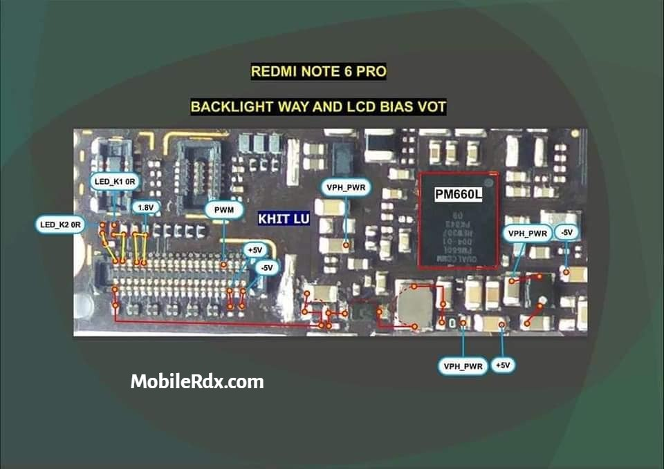 Redmi Note 6 Pro Display Backlight Ways