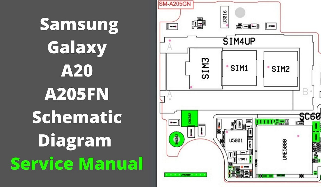 Samsung GalaxyA20 A205FN Schematic Diagram Service Manual