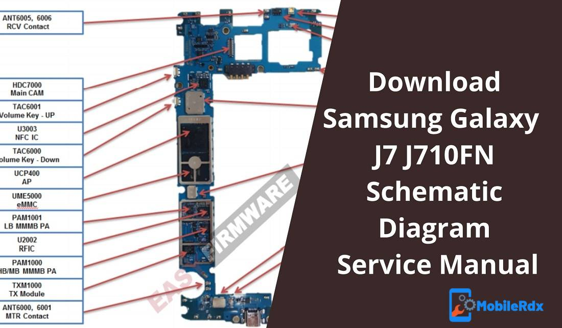 Download Samsung Galaxy J7 J710FN Schematic Service Manual