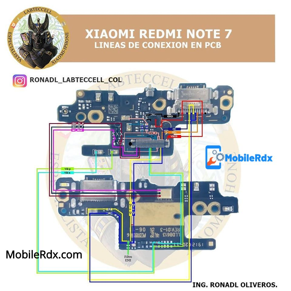 Redmi Note 7 Charging Ways Solution USB Jumper