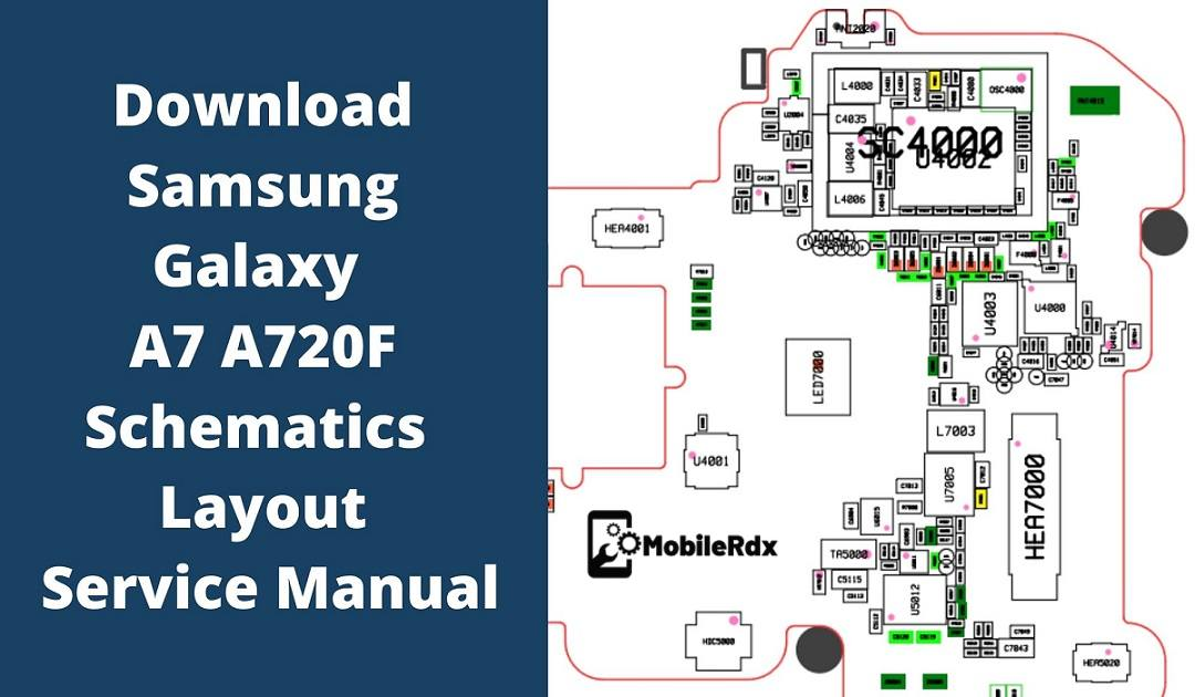 Samsung Galaxy A7 A720F Schematics Service Manual
