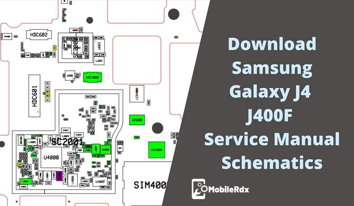 Samsung Galaxy J4 J400F Service Manual Schematics