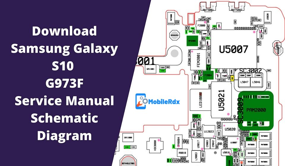 Samsung Galaxy S10 G973F Service Manual Schematic