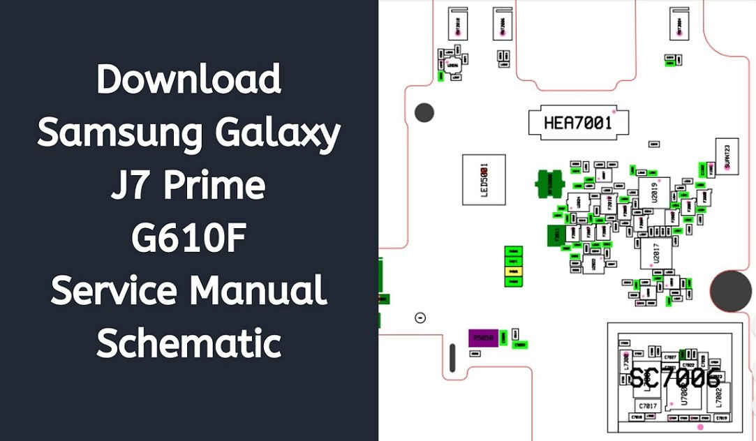 Download Samsung Galaxy J7 Prime G610F Service Manual Schematic