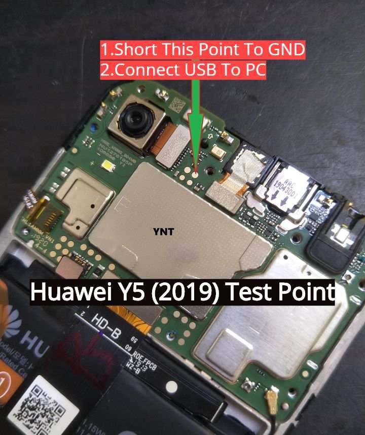 Huawei Y5 2019 Test Pont
