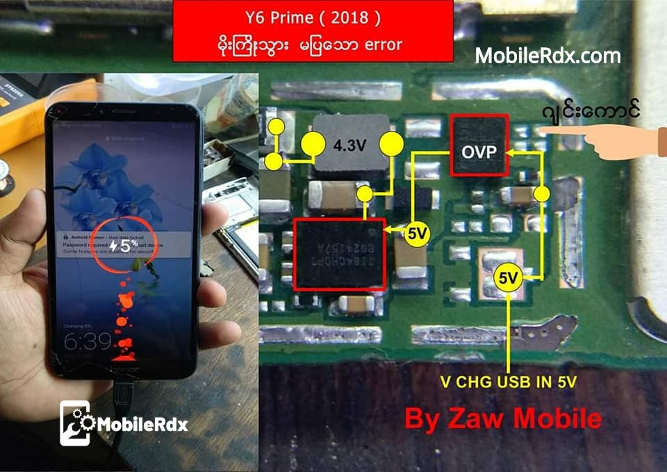 Huawei Y6 Prime 2018 Charging Problem Ways Solution