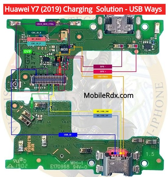 Huawei Y7 2019 Charging Problem Solution USB Ways