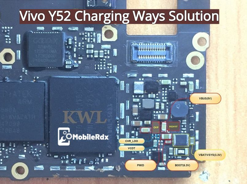 Vivo Y52 Charging Problem Solution Charging Ways