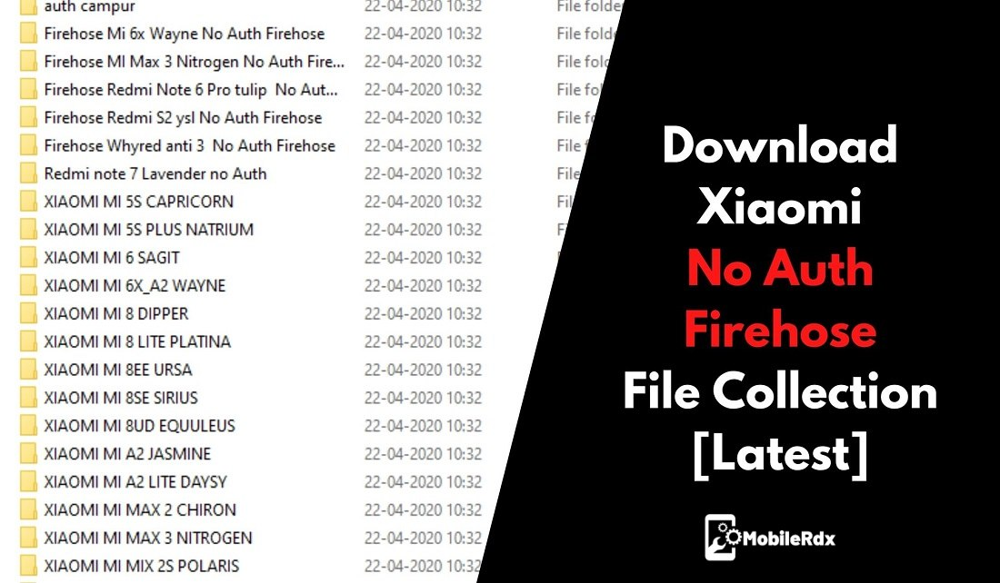 Download Xiaomi No Auth Firehose File Collection Latest