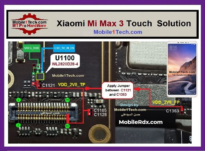 Xiaomi Mi Max 3 Touch Screen Problem Solution Touch Ways