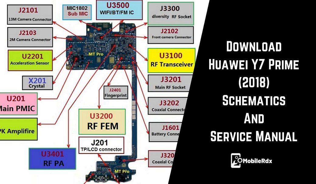 Download Huawei Y7 Prime 2018 Schematics And Service Manual