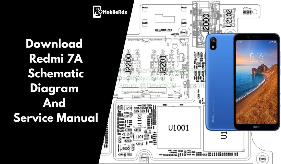 Download Redmi 7a Schematic Diagram And Service Manual
