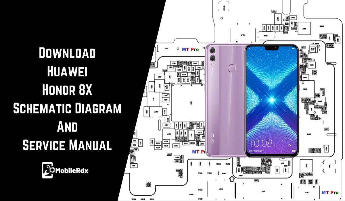 Huawei Honor 8X Schematic Diagram And Service Manual