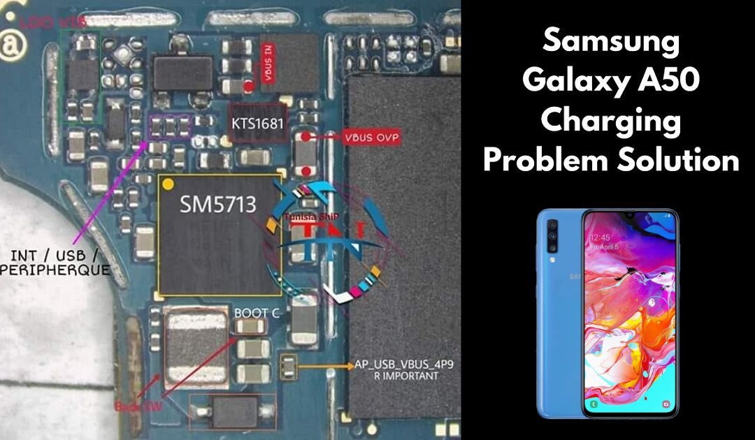 Samsung Galaxy A50 Charging Ways Not Charging Problem Solution