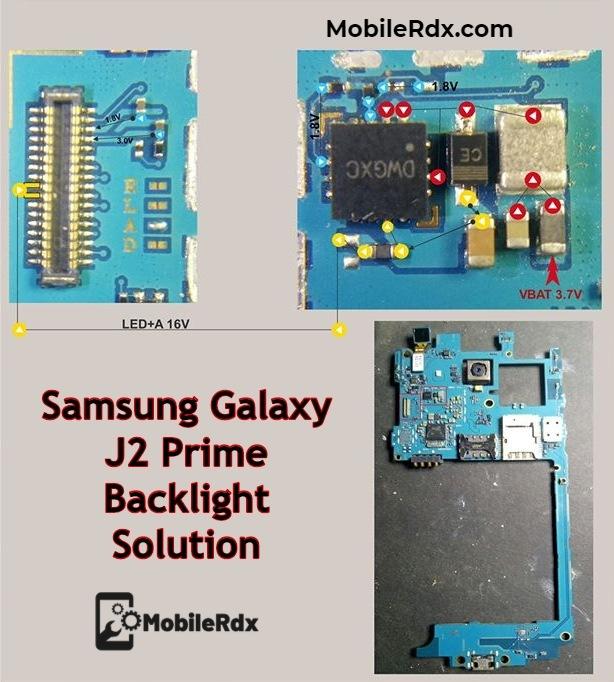 Samsung Galaxy J2 Prime Backlight Way